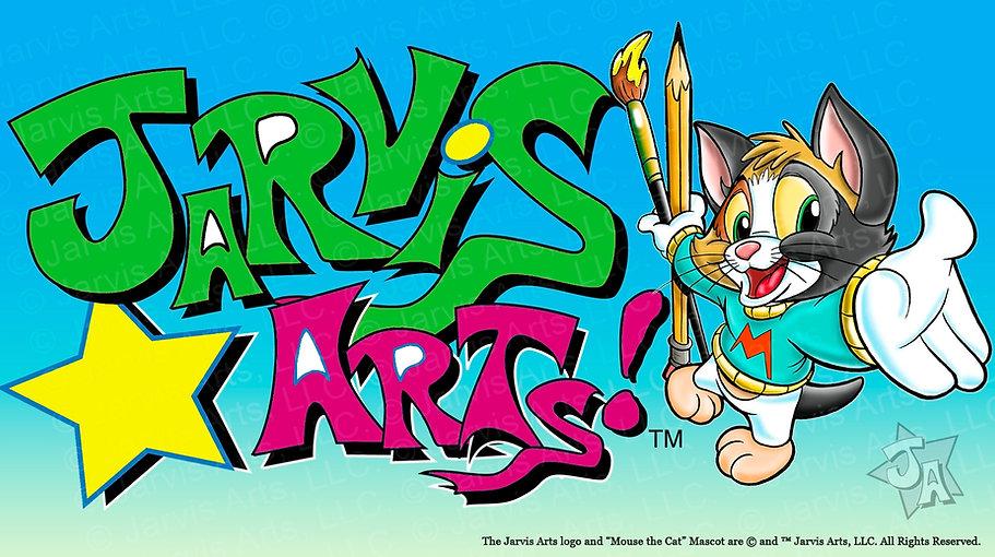 Jarvis Arts Logo and Mascot