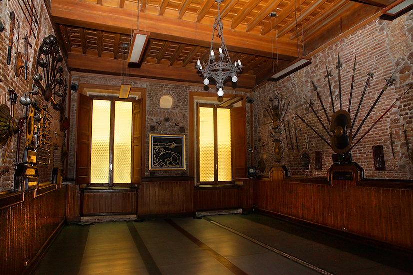 Sala d'Armi Accademia Musumeci Greco