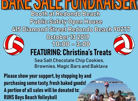 Bake Sale Fundraiser 10/13/2019