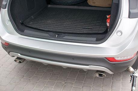 ГБО : Lincoln MK-C 2.0 Ecoboost с баллоном в нише запасного колеса