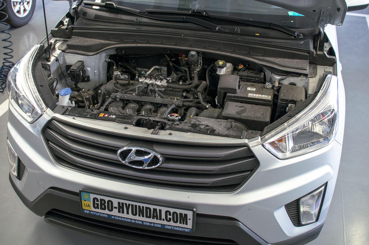 BRC ГБО Hyundai Creta