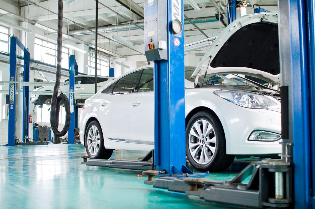BRC ГБО Hyundai Grandeur 3.0