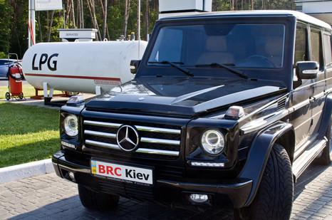 ГБО BRC Mercedes G55 AMG Kompressor