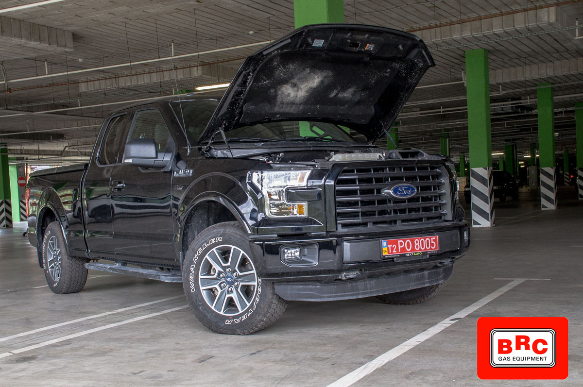 установить Ford F-150 V8 5.0 с ГБО