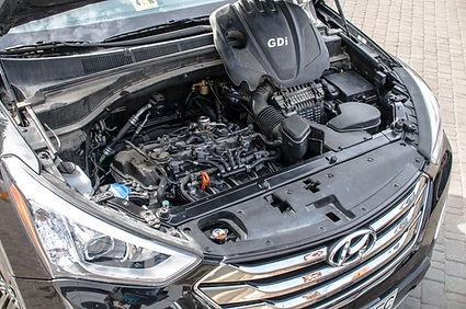 установка ГБО на Hyundai Santa Fe sport 2.4 GDI (USA)