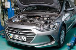 BRC Киев, установка на Hyundai