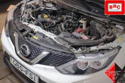 установка Nissan Qashqai 1.2 BRC