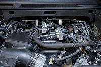 гбо brc lexus LX570 - моторный отсек