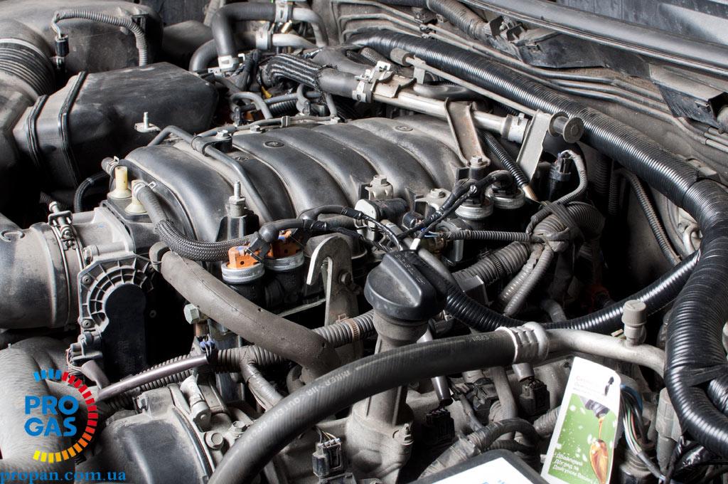 ГБО 5 -Vialle Toyota LC 200