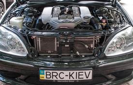 BRC ГБО для Mercedes S220 5.5 kompressor