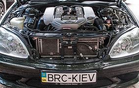 ГБО для Mercedes S55 AMG Kompressor - BRC