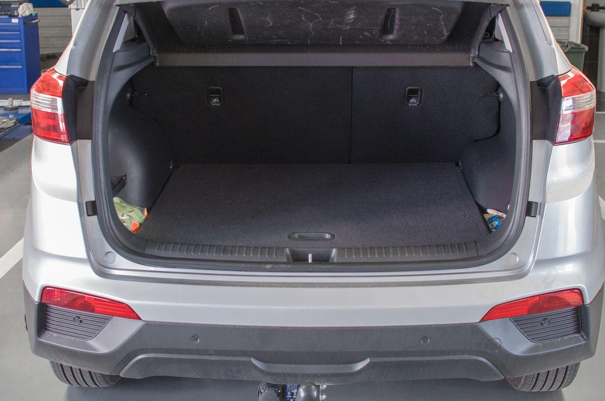 BRC ГБО Hyundai Creta - газовый бак