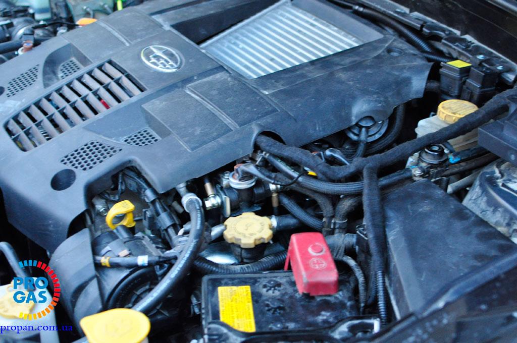 subaru forester 2.5 turbo vialle lpg
