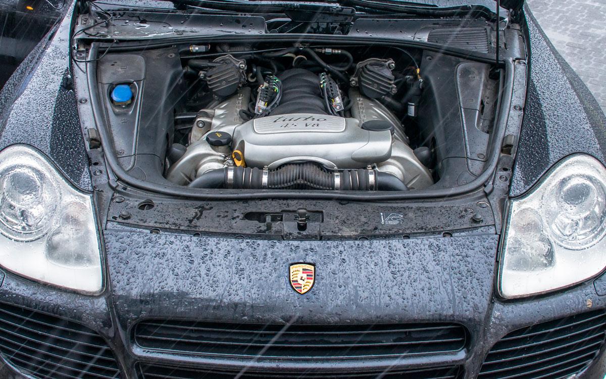ГБО для Porsche Cayenne 4.5 Turbo