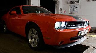 ГБО BRC на Dodge Challenger Hemi 5.7