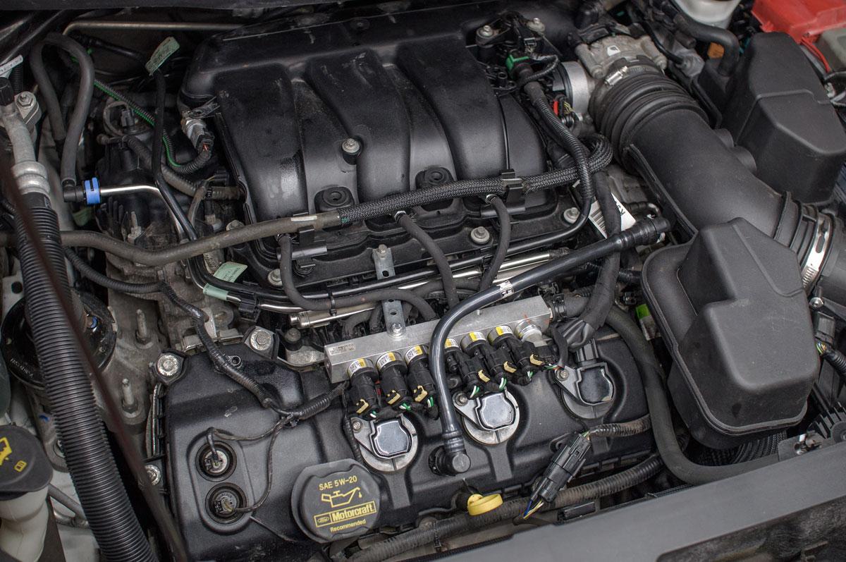 ГБО Ford Explorer 3.5 V6