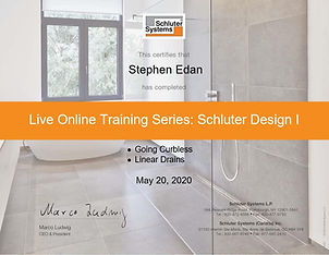 Live Online Training Certificate 05-20-2