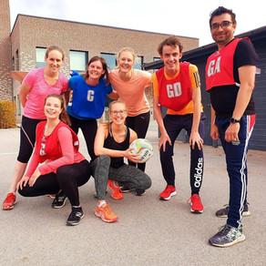 Uppsala, the inaugural Netball Sweden road trip!