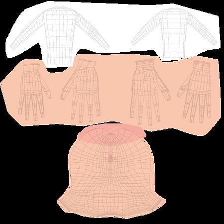 Body-Hands-Face-UV-unwrap-v3-from - fest