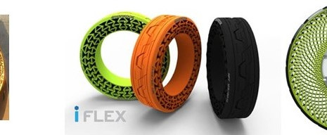 NEW TYPE OF TIRES TRYING TO REPLACE PNEUMATIC TIRES