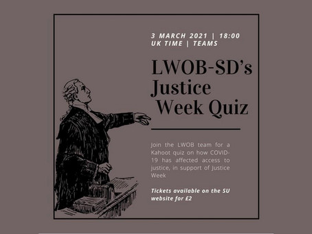 Lawyers Without Borders, Justice Week Event