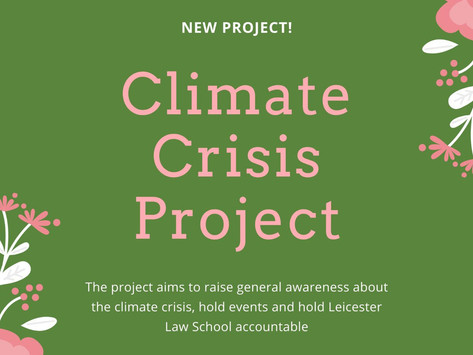 New Climate Crisis Project!