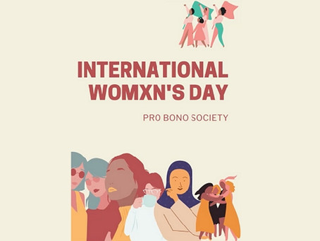 Celebrating International Womxn's Day