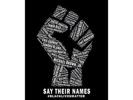 #SayTheirNames