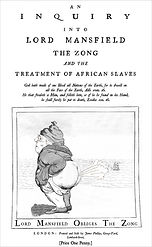Lord Mansfield and the Zong