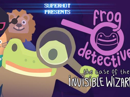 Frog Detective 2: The Case of the Invisible Wizard (2019)