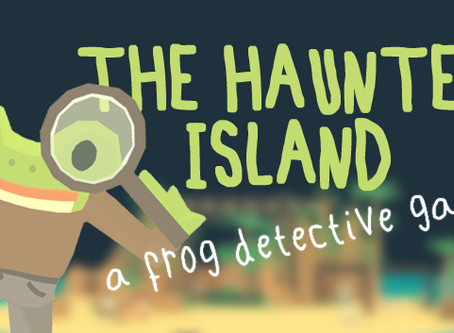 The Haunted Island, a Frog Detective Game (2018)
