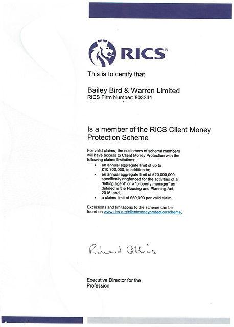 xxxx RICS client money certificate.JPG