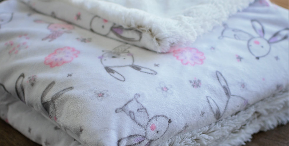 Pink Bunny Toddler Cozy