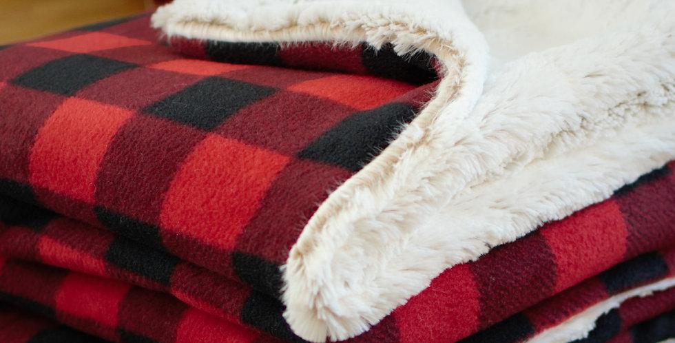 Red and Black Buffalo Check Original Cozy