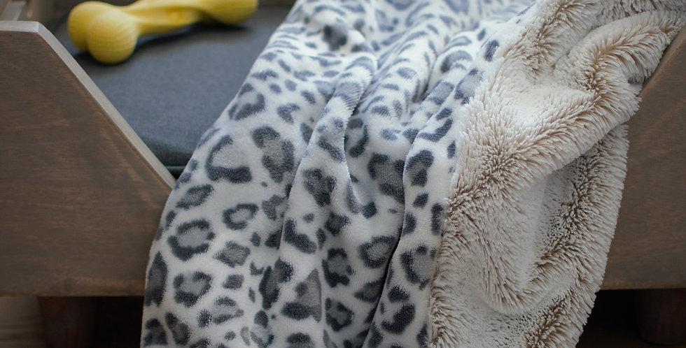 Light Gray Cheetah Pet Cozy