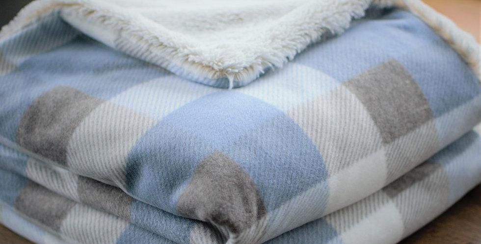 Light Blue Buffalo Check Original Cozy