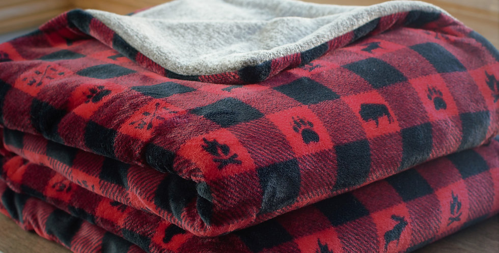 Reversible Woodland Buffalo Check