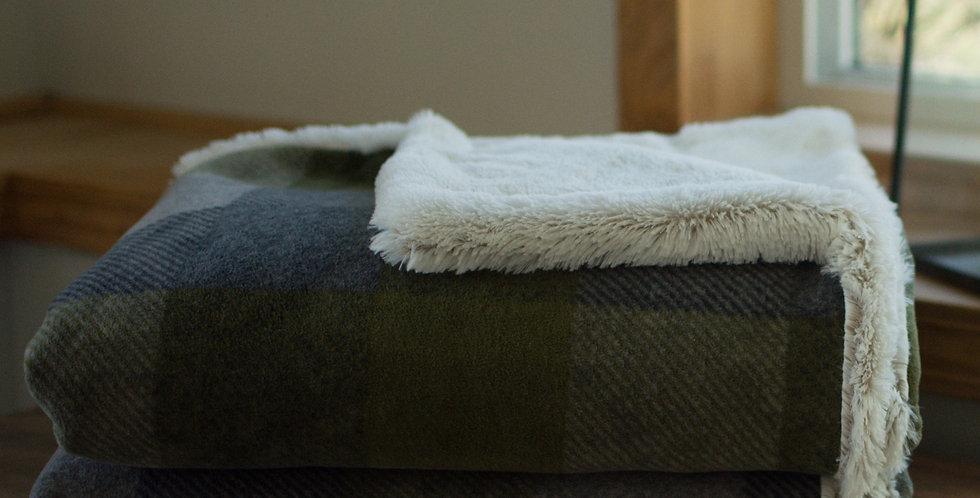 Green and Gray Buffalo Check Original Cozy
