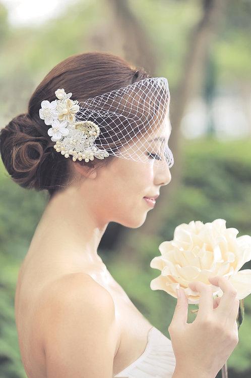 Mikko ǀ Bridal Kanzashi Hair Adornment