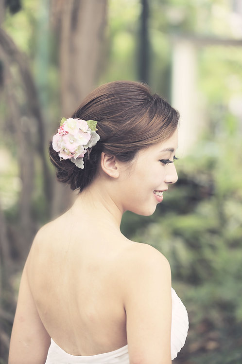 Hydrangea ǀ Exquisite Cherry Blossom Adornment