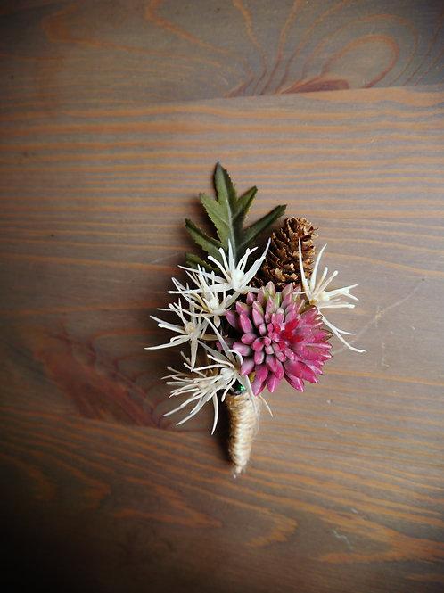 Blush Eryngium Boutonniere