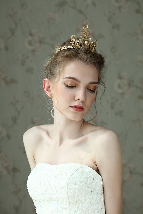 Ysabel ǀ Symmetrical Gilded Tiara