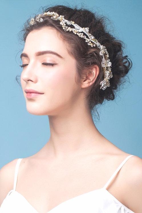 Dixie ǀ Jeweled Bridal Crown