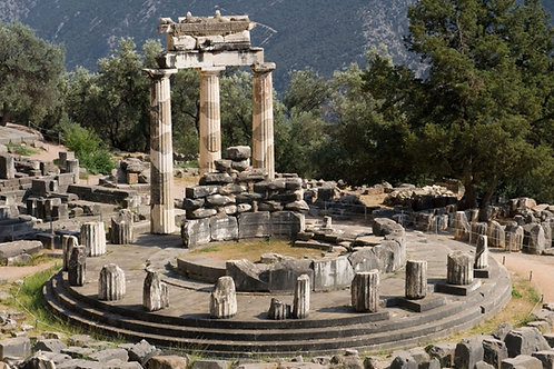 ORACLE OF DELPHI - The Healing Trinity