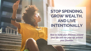 How to Stop Spending, Grow Wealth, & Live Intentionally | Ep. 1 | Winenance Wednesday