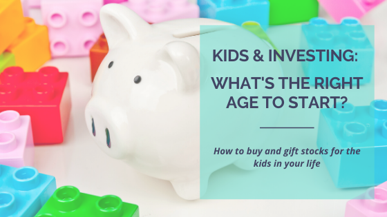 How to give stocks as gifts, tax implication for gifting children stocks, how to invest for your children