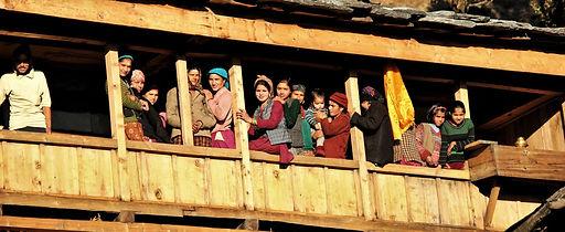 A scene from Kalap village, Uttarakhand