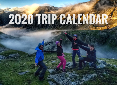2020 TONS TRAILS FIXED GROUP DEPARTURE CALENDAR