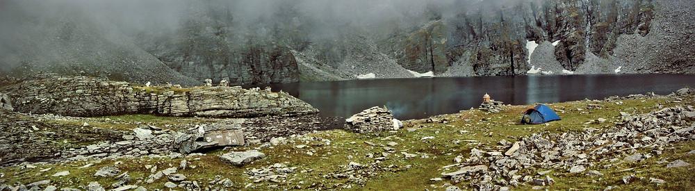Barad Sar, the high altitude lake at 4270m (14,091ft)!
