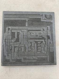 "Laser etch on 1/2"" concrete particle board"
